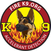 Fire K9.org Embroidered Patch - Shepherd